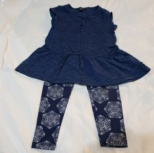 Nautica Toddler Girl 2pc Outfit 2T